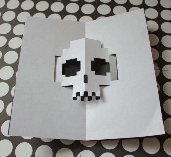DIY Pop-up Halloween Card - The Idea King