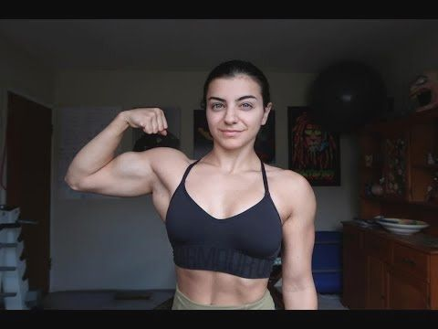 The Best And Beautiful Female Bodybuilder Amazing Strenght Just 18