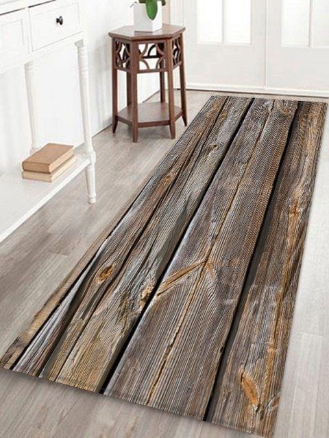 3d Wooden Pattern Print Floor Mat Printed Floor Mat Wooden Pattern Area Rug Decor