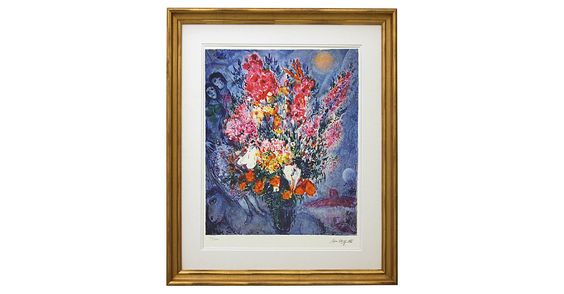 A late-1970s lithograph printed in Paris on Arches paper utilizing traditional stone plates. From a limited edition of 250, pencil-numbered by hand and plate-signed. This print has been...