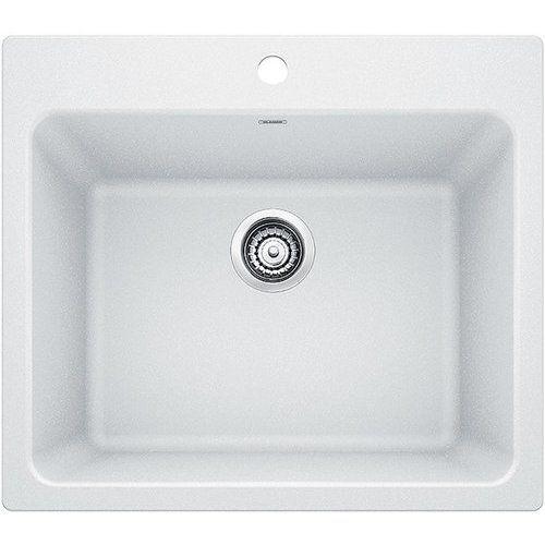 Blanco 25 Inch Liven Drop In Undermount Single Bowl Laundry Sink