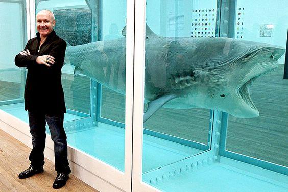 Damien Hirst corona su éxito con primera retrospectiva en la Tate Modern
