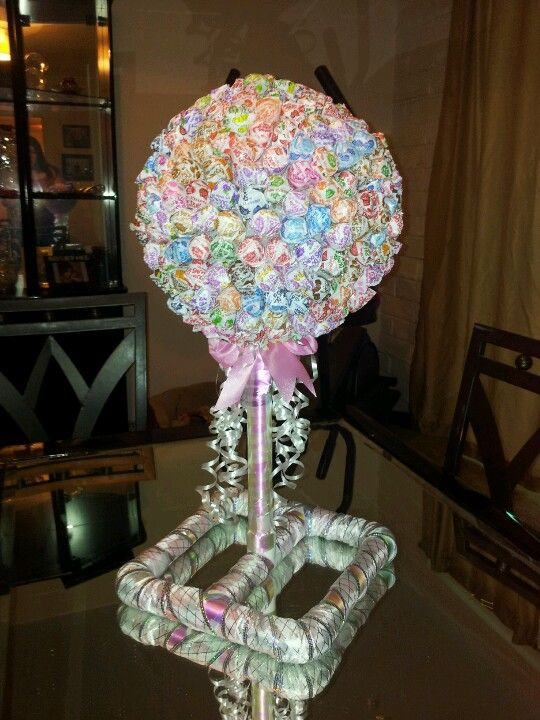 Babies Pipes And Lollipop Centerpiece On Pinterest