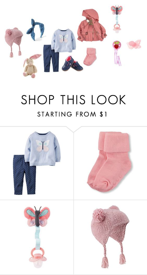 """""""Sin título #3114"""" by alejaborrayo on Polyvore featuring Burberry, Carter's, Monsoon, Baby, girl, Six y months"""
