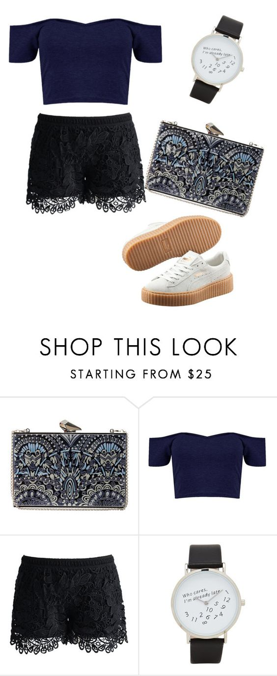 """"""""""" by queenmell ❤ liked on Polyvore featuring KOTUR, Chicwish, ALDO, Puma, women's clothing, women, female, woman, misses and juniors"""