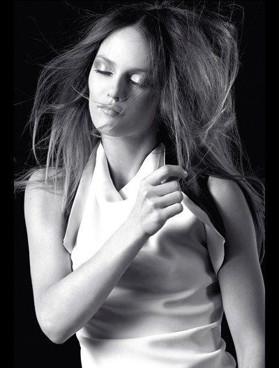 A atriz e cantora francesa Vanessa Paradis