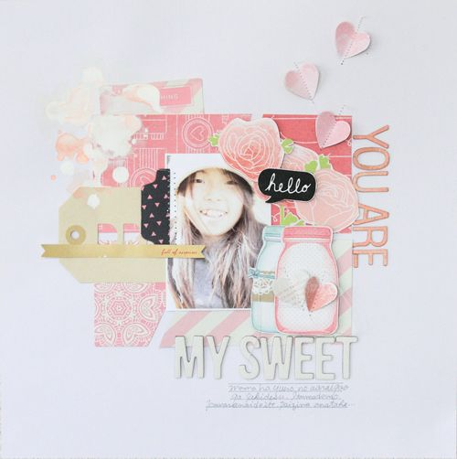 My-sweet by Michiko Kato #scrapbook