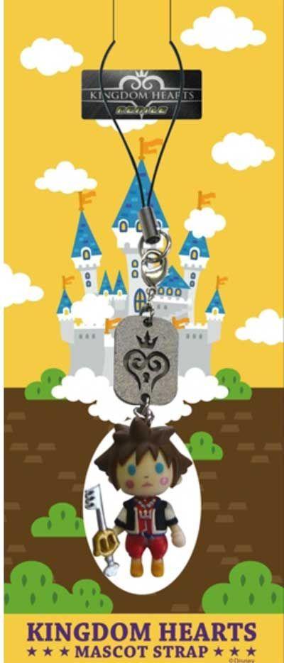 Phone Charm: Kingdom Hearts - Sora Avatar Mascot Figure