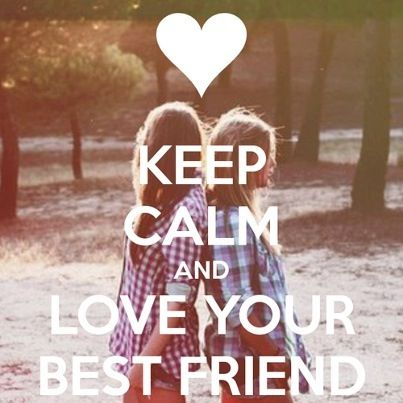 Keep Calm Best Friend