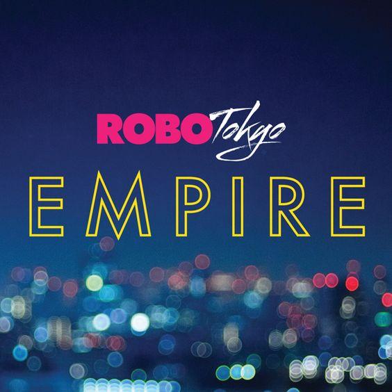 RoboTokyo - Empire (Single Cover Design) by Peter Crafford, via Behance