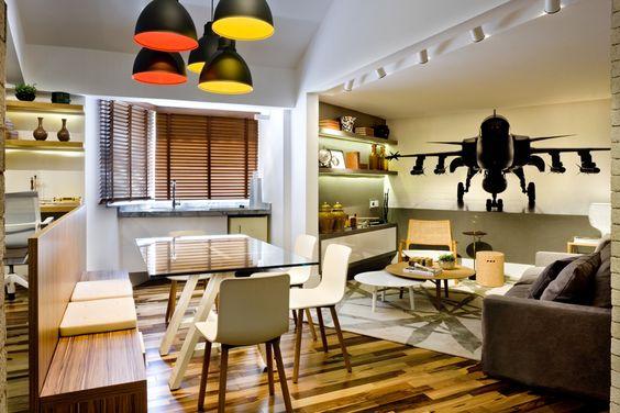 Pendente LD 220 / Design de interiores: Natalia Veloso #iluminacao #lightingdesign #LightDesignExporlux  #arquitetura #designinteriores #decoracao #luminarias #pendentes #CasaCor