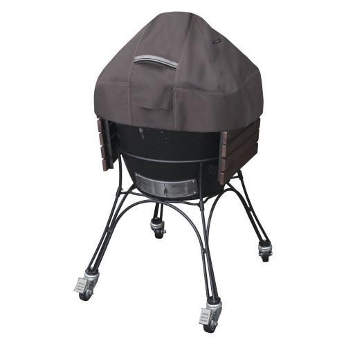 Up To 22 In Diameter With Side Tables 40 H Reinforced Padded Handles Make Removal Easy While Double Sti Classic Accessories Ceramic Grill Outdoor Grill Covers