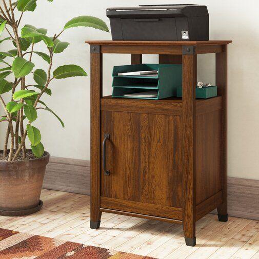 Chappel Printer Stand With Storage Printer Stand Printer Stands Storage