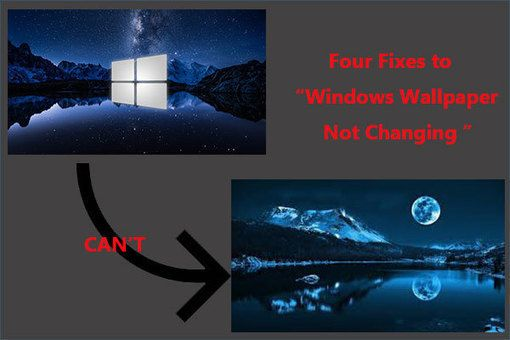 Can T Change Desktop Background On Windows 10 Here Are 4 Fixes Backgrounds Desktop Computer Reviews Windows 10