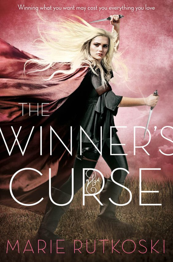 The Winner's Curse - Marie Rutkoski, pb redesign:
