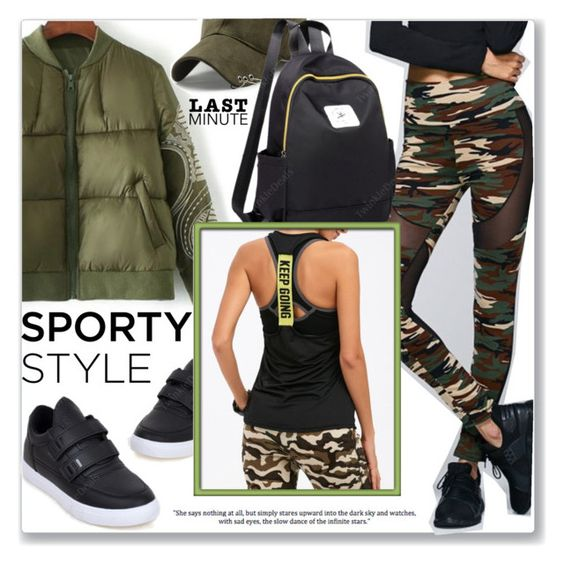 """""""Sporty Style"""" by jecakns ❤ liked on Polyvore"""
