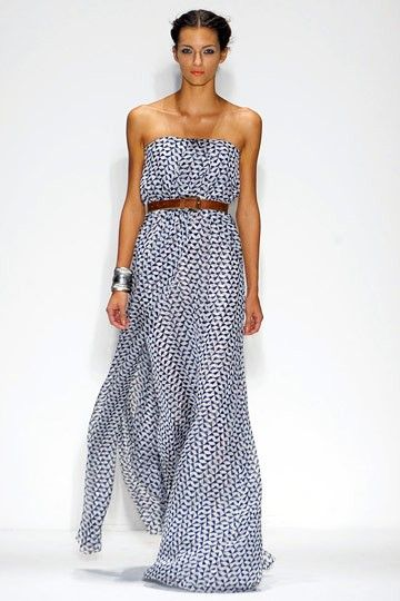 belted maxi.