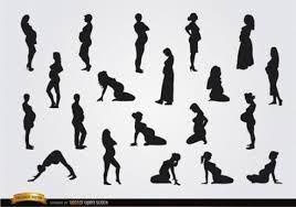 Resultado de imagem para desenhos a preto e branco grávida