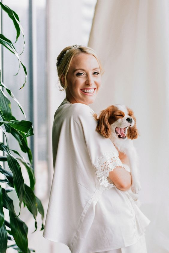 "From the editorial ""You'll Never Believe This European-Style Mansion Venue Is in Atlanta!"" This is the most photogenic pup we've ever seen grace the pages of SMP!   LBB ​Photography: @willettphoto  #weddingdog #weddingideas #atlantawedding #southernwedding"