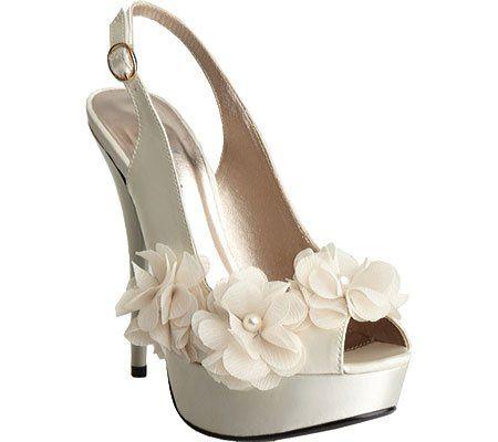 Allure Bridals Women's Glass Dress Shoes