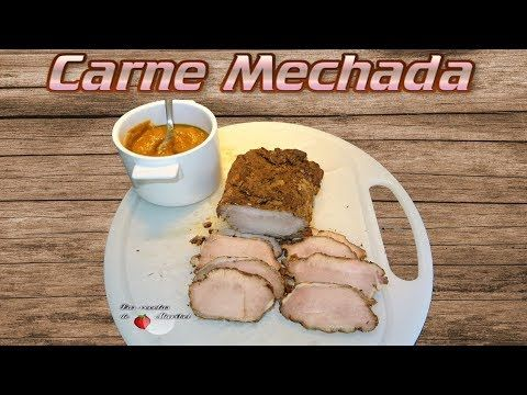 Carne Mechada Fiambre De Cerdo Con Salsa Youtube Carne Mechada Cerdo En Salsa Carne
