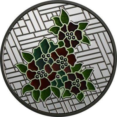 20 Dollar Silber Schloss Craigdarroch - Glasmalerei PP
