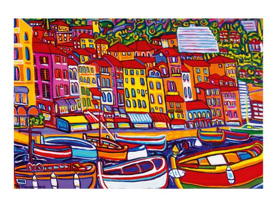 Waterfront  by Igor Marceau art print from an by lesARTicles