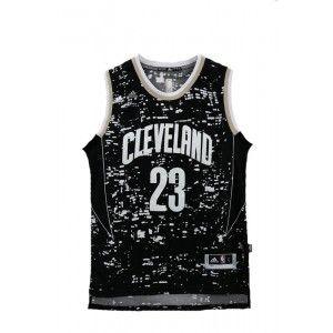 Mens Cleveland Cavaliers LeBron James Number 23 Luminous Jersey