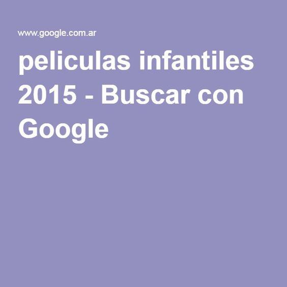 peliculas infantiles 2015 - Buscar con Google