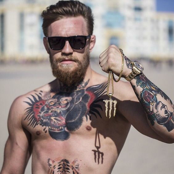 Conor mcgregor tattoo men amp ink pinterest martial art and