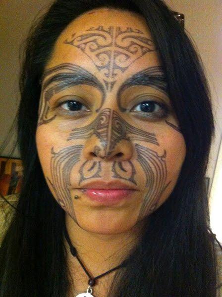 Maori Facial Tattoo: Maori Facial Tattoo Kit By Tinsley Transfers