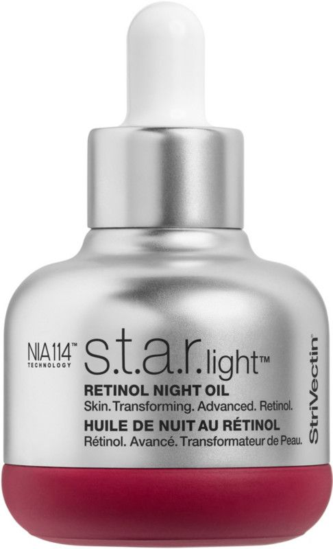 Retinol power without irritation in a nourishing, ultra-lightweight, dry finish oil with Strivectin S.T.A.R. Light Retinol Night Oil.