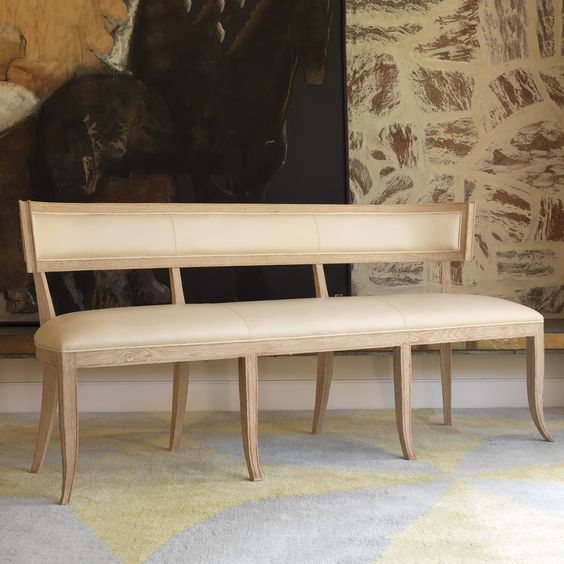Modern Benches + Contemporary Benches For Your Home   Zinc Door