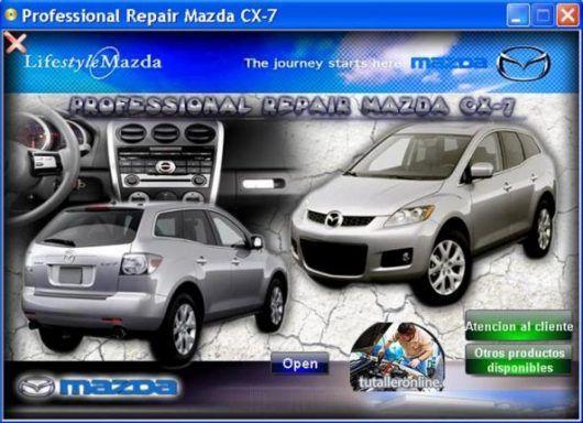 Manual De Taller Reparacion Profesional Mazda Cx 7 2007 2009 Mazda Cx 7 Mazda Reparacion