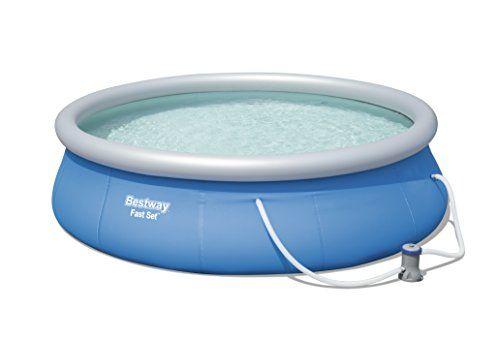 Bestway Fast Set Pool Diametre 396 H 84 Filtre A Cartouche