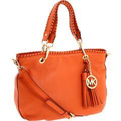 Michael Kors handbag in tangerine tango