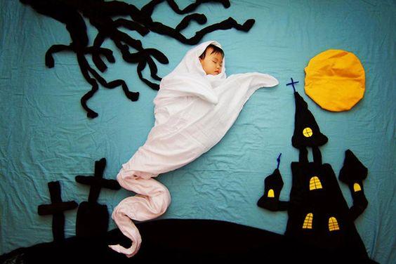 foto criativa de bebê - 10: