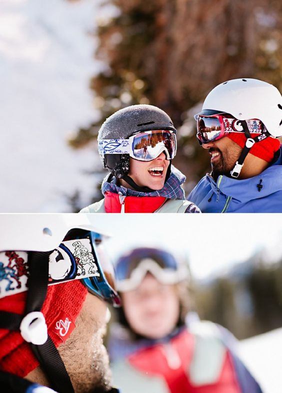 snowboarding engagement shoot in breckenridge colorado on COUTUREcolorado. DOING THIS!!!
