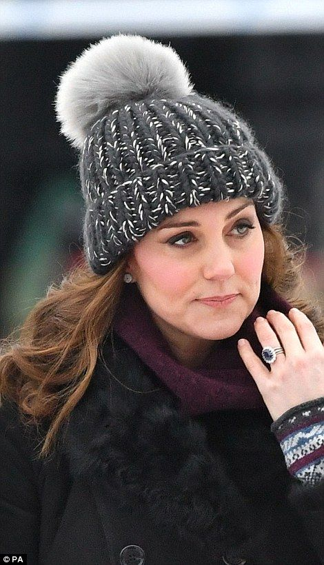 Kate has put the battle with severe morning sickness she experienced in her early pregnancy behind her