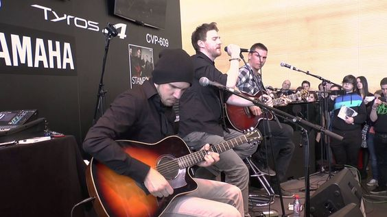 Stanfour - Life Without You [Acoustic] - Musikmesse 2013 FFM