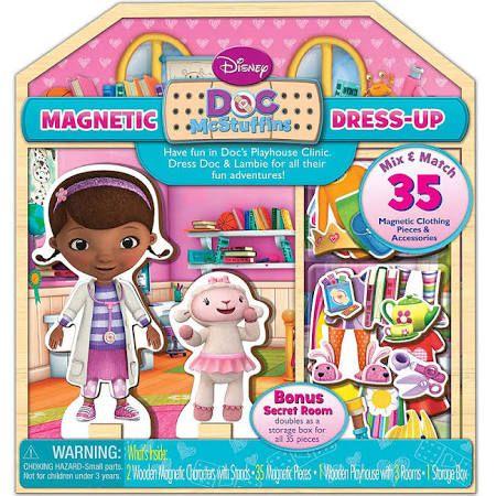 Disney Doc McStuffins Magnetic Dress-Up - 35-Piece