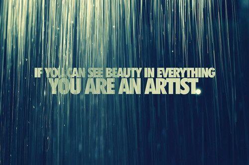 artists vs. beauty :)