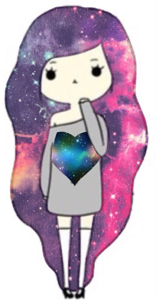 Galaxy chibi girl credit to thebestfangirl chibi - Galaxy wallpaper for girls ...