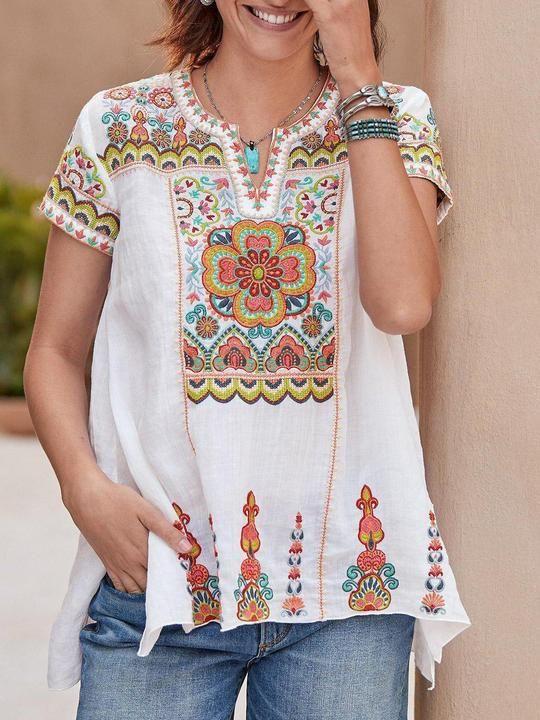 Bohemian T Shirts Womens