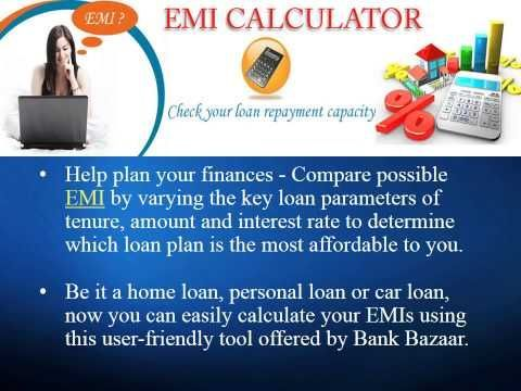 Emicalculator Helps Calculate The Monthly Installments Payable On Any Of Your Loans Whether A Personal Loan Auto L Loan Calculator Loans For Poor Credit Loan