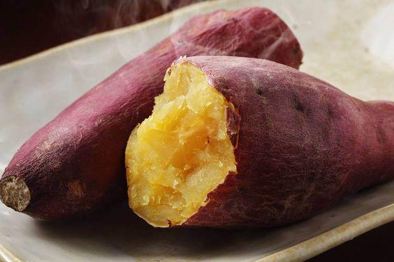 おいしそうな焼き芋です。