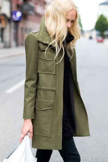 Army Coat | Emerson Fry