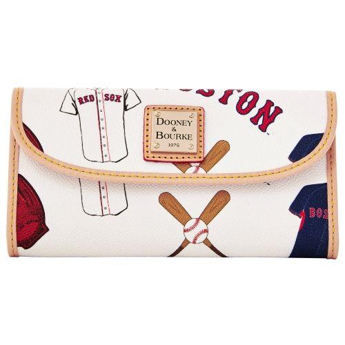 MLB Boston Red Sox Dooney & Bourke Women's Continental Clutch