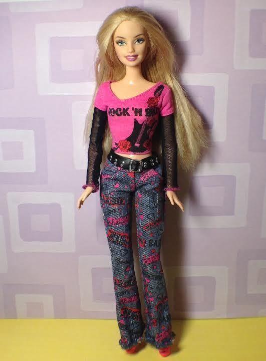 1996 Body with 1998 Head Vintage Barbie #Mattel
