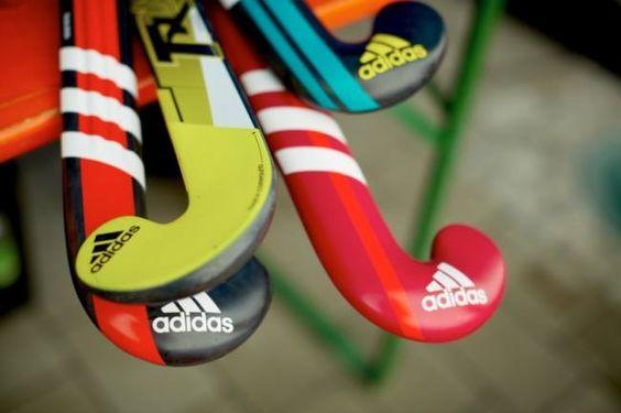 Field hockey sticks , photo, hockey sobre cesped